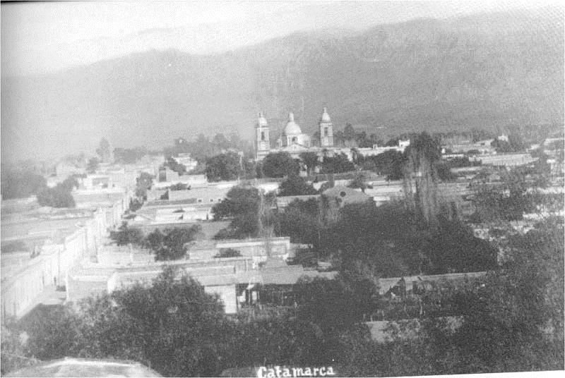 Vista del Área Central de SFVC a comienzos del siglo XX